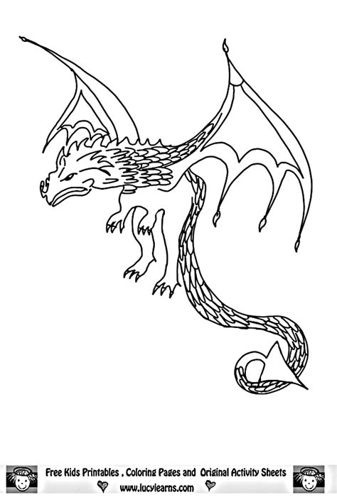 realistic dragon coloring pages getcoloringpagescom