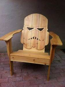 homemade patio stormtropper chair my love for geeky With homemade lawn furniture