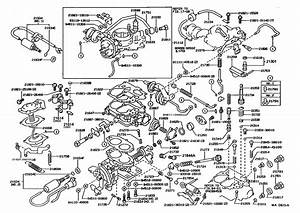 1989 Toyota Corolla Carburetor Diagram  1989  Free Engine Image For User Manual Download
