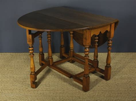 antique butterfly leaf dining table oak oval drop leaf gate leg table antiques atlas 7464