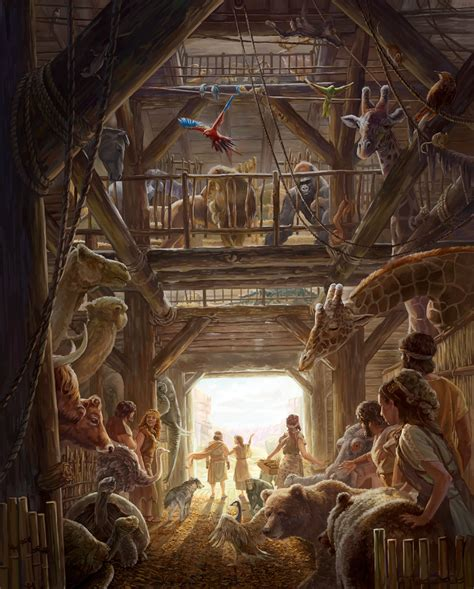 noah bible flood ark lessons learn global lesson inside watchtower