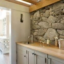 rock kitchen backsplash 29 cool stone and rock kitchen backsplashes that wow