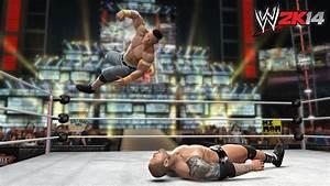 WWE 2K14 Screenshots:WM26 Batista vs John Cena by ...