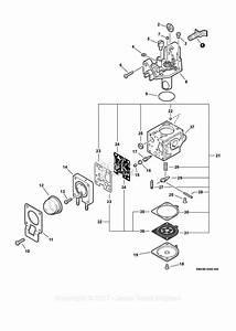 Echo Pb-251 S  N  P09012001001 - P09012999999 Parts Diagram For Carburetor  N