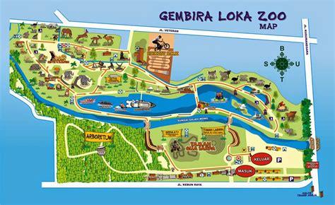 wisata keluarga  kebun binatang gembira loka yogyakarta