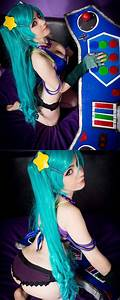 Chillout :: Arcade Sona cosplay