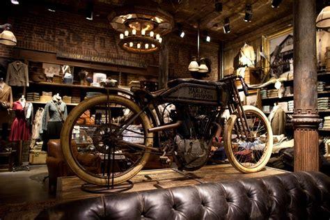 Rl Garage by Rl Soho Store Retail Ideas Motorcycle Store