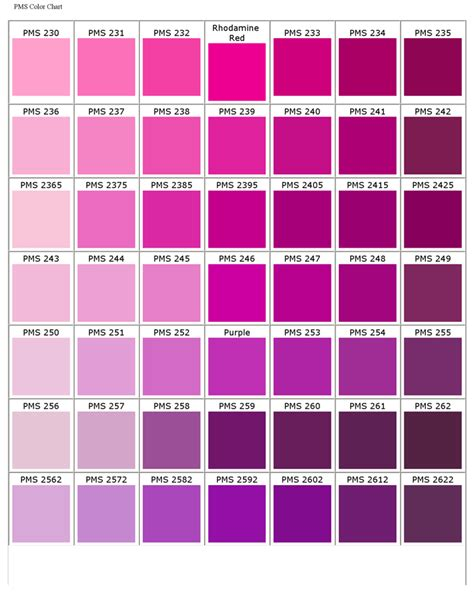 pantone matching system color chart paint swatches pinterest pantone matching system