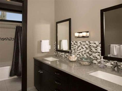 bathroom choosing bathroom backsplash for beautify