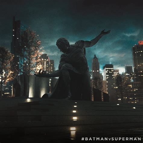 Batman V Superman's False God Statue