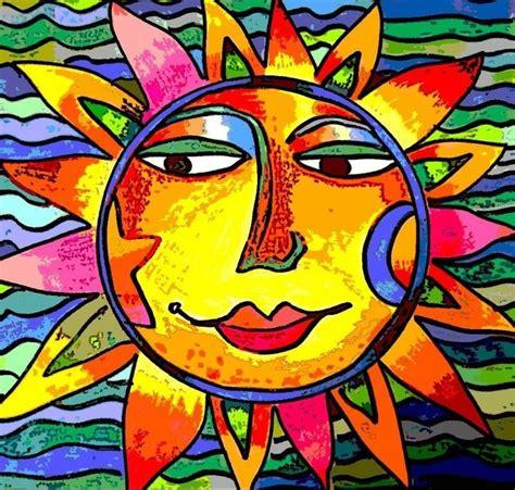 cbs sunday morning sun art  sunface art    cbs