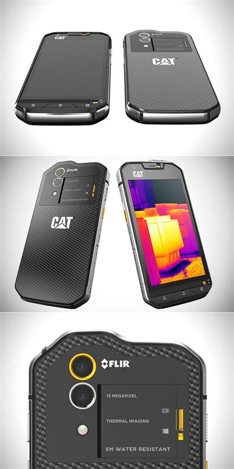 Yosemite Stand by Cat S60 Is World S First Smartphone With A Built In
