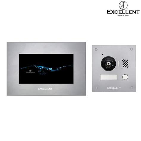 IP Video Türsprechanlage 2Draht mit HD Kamera 150°, Unterputz