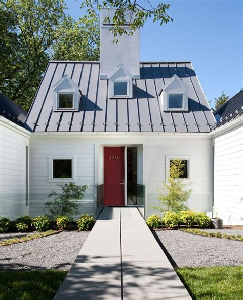standing seam metal roof a smart green choice for your home