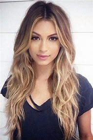 Middle Hairstyles for Long Hair