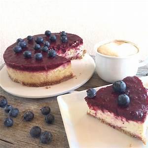 Cheesecake mit Beeren Topping glutenfrei glutenfreie