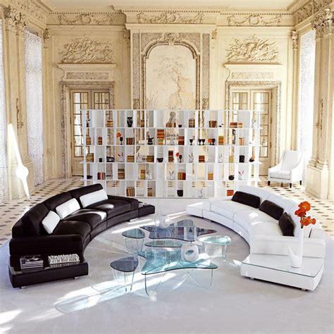 interiors canapé roche bobois canapé il teatro by philippe bouix chez