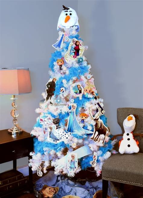 frozen disney christmas tree ideas popsugar moms photo