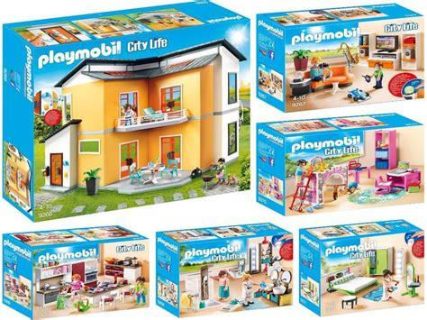 Playmobil 9266  9271  Moderne Maison + 5 Chambre, Neuf