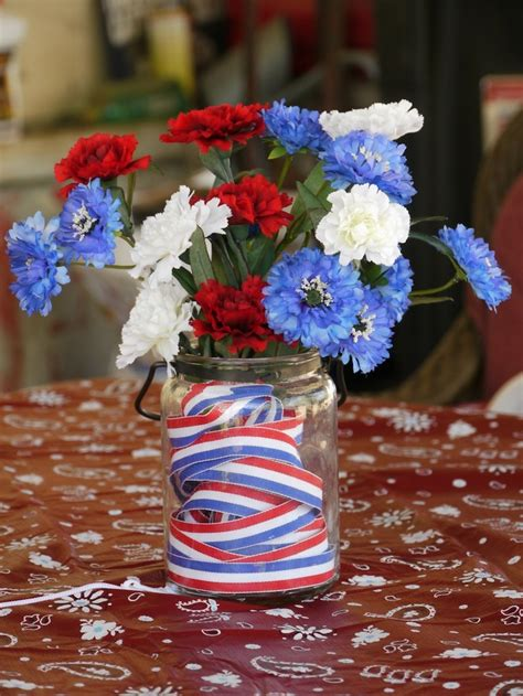 4th of july table centerpieces 53 cool 4th july centerpieces in national colors digsdigs