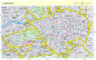 London England City Map
