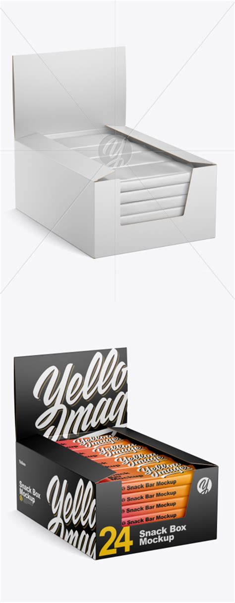 Apple imac mockup, macbook mockup, iphone mockup, ipad, billboards & signs, branding, print, fashion, apparel & more poster free mockup in the master bedroom to showcase your artwork in a photorealistic interior. Matte Snack Box Mockup 41274 TIF » AVAXGFX - All Downloads ...