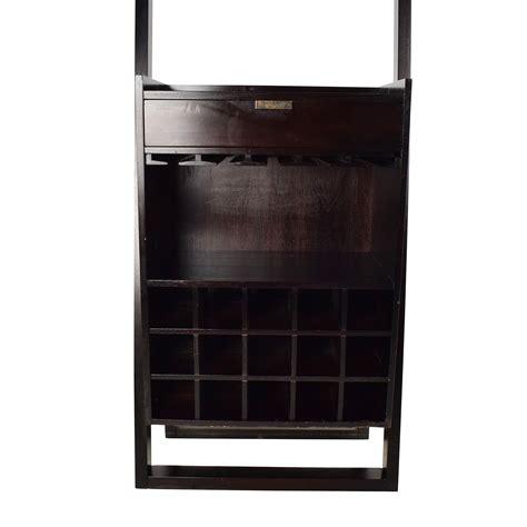 crate  barrel crate barrel wine rack tables