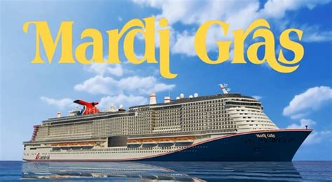 carnival announced details groundbreaking ship