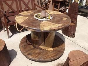 Tisch Aus Kabeltrommel : hab aus einer alten kabeltrommel einen gartentisch gezaubert gartenbaenke pinterest ~ Orissabook.com Haus und Dekorationen