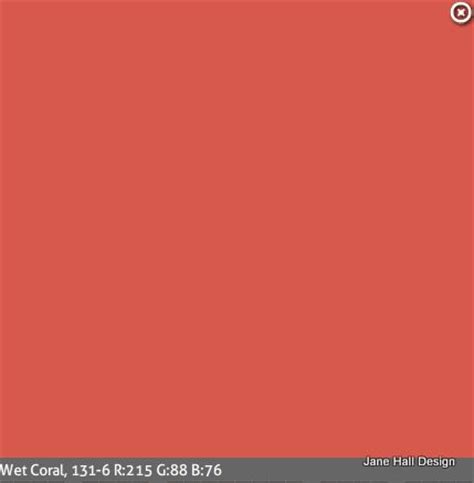 persimmon orange paint color from ppg color schemes