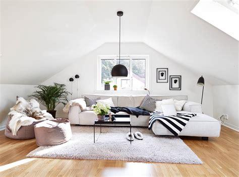 livingroom in 30 attic living room ideas adorable home