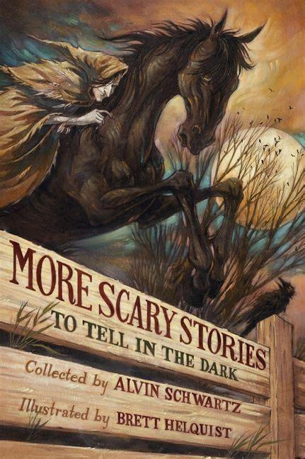 scary stories     dark alvin schwartz hardcover