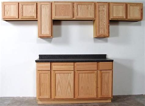 Quality Kitchen Cabinet Doors by Quality One 15 Quot X 30 Quot Unfinished Oak Standard Wall Cabinet