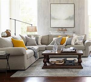 pottery barn sale up to 30 off recliners sofas With pearce sectional sofa pottery barn