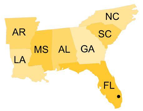 Southeast Region – NPH USA