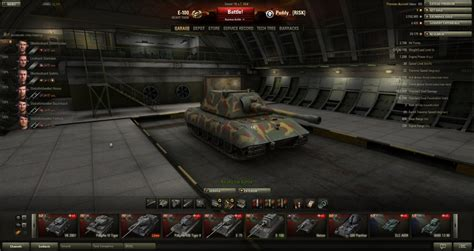World Of Tanks Garage Mod by Special Mod Remove The New Year Garage
