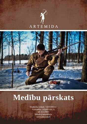 Medību pārskats - Dažādi - Preču katalogs - ARTEMIDA