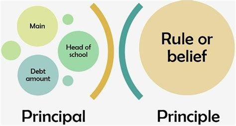 Difference Between Principal and Principle (with ...