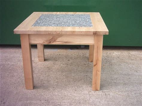 tile tables solid beech granite tile insert coffee table cofg603 163 42 56 tile it
