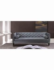 3er Sofa Grau : chesterfield sofa 3er sitzer sofa blau grau klassisch ~ Pilothousefishingboats.com Haus und Dekorationen
