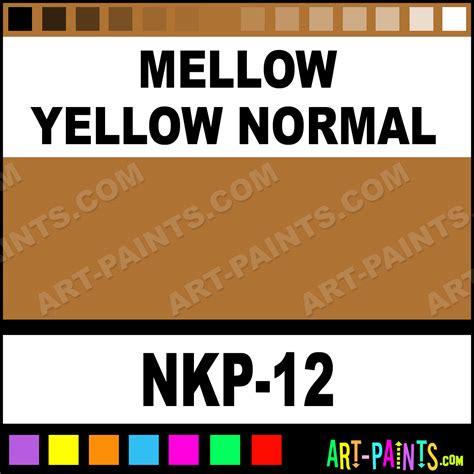 mellow yellow normal concealer paints nkp 12 mellow yellow normal paint mellow