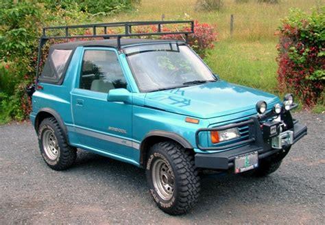 Suzuki Sidekick Roof Rack by Suzuki Sidekick 0 To 60 In 5 2