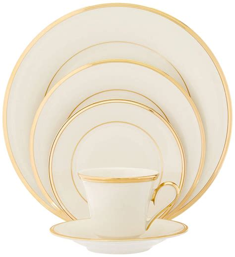 china lenox dinnerware eternal lennox fine setting place piece service banded sets christmas ivory american kitchen