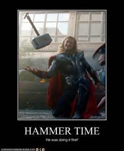 Thor Hammer Time Meme