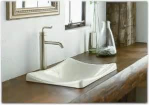 kohler k 2833 0 demilav wading pool bathroom sink white vessel sinks amazon com