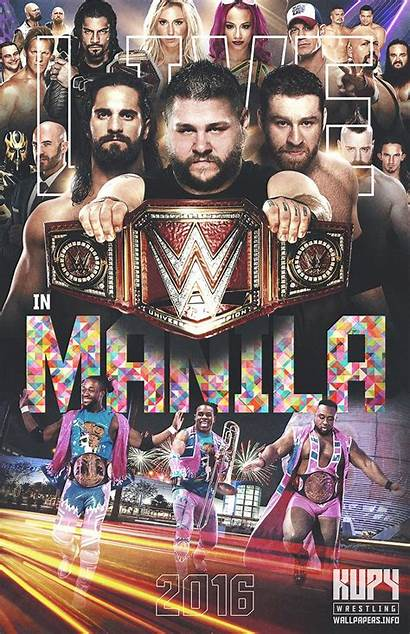 Wrestling Wwe Wallpapers Manila Kupy Njpw Poster
