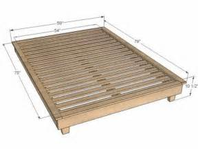 size platform bed frame how to build a platform bed frame