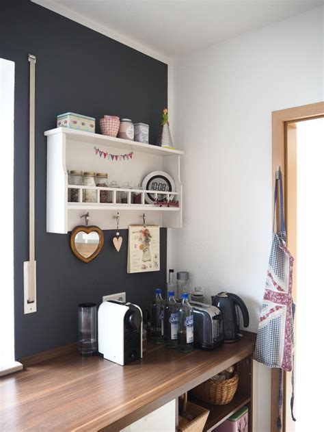 Wandfarbe In Der Küche by Neue Wandfarbe In Der K 252 Che Fr 228 Ulein Ordnung