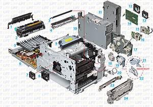 Parts Diagram For Laserjet 4345  M4345