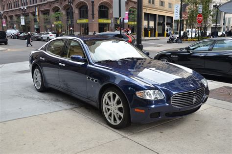 maserati quattroporte 2006 2006 maserati quattroporte stock 21669 for sale near